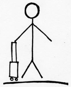 Ein kleiner Koffer