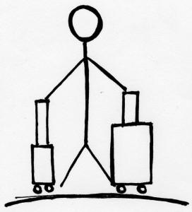 Zwei Koffer
