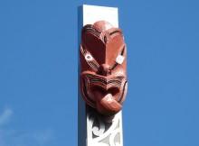 Neuseeland Maori Maske