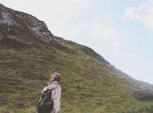 Minimalist auf Reisen