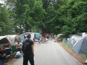 Camping bei Rock im Park