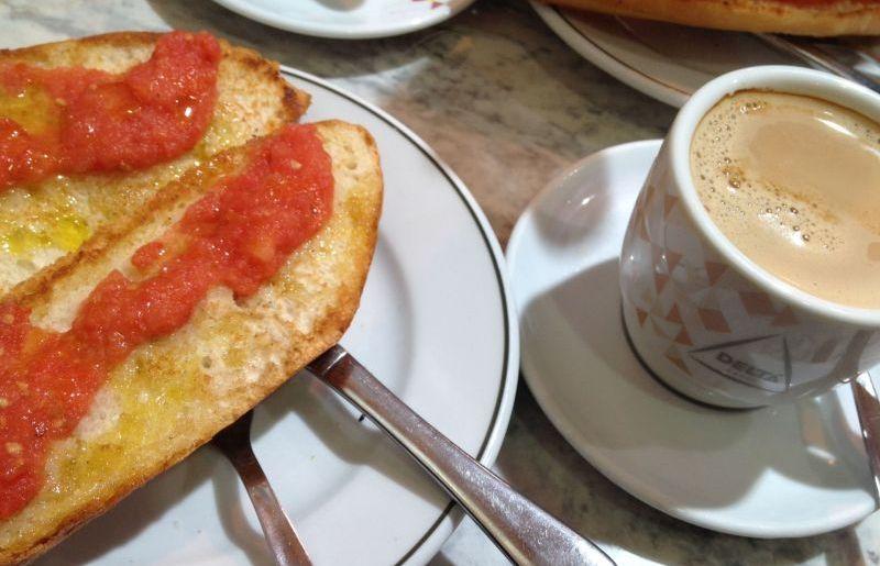 Spanisches Frühstück: Pan Tumaca