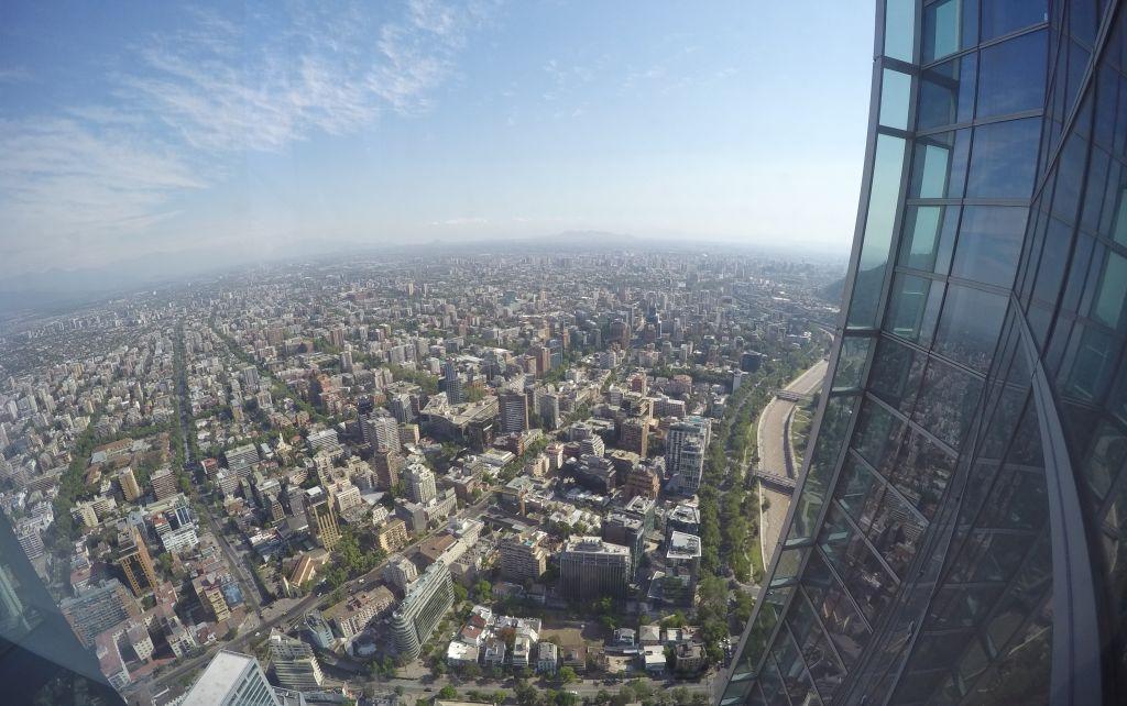 Aussichtspunkte in Santiago de Chile: Aussicht vom Costanera Center