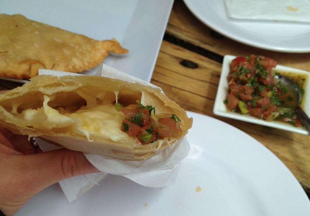 Empanadas fritas in Concón