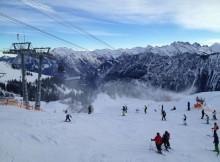Snowboarden am Fellhorn