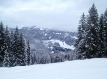 Snowboarden am Söllereck