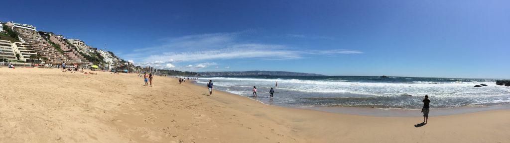 Strand in Reñaca