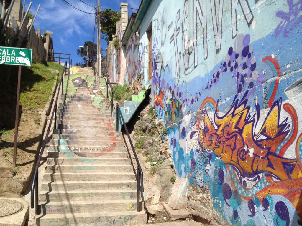 Streetart in Concón