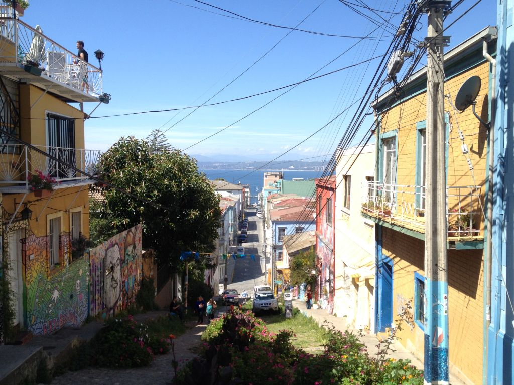 Valparaíso, das Streetart-Paradies in Chile