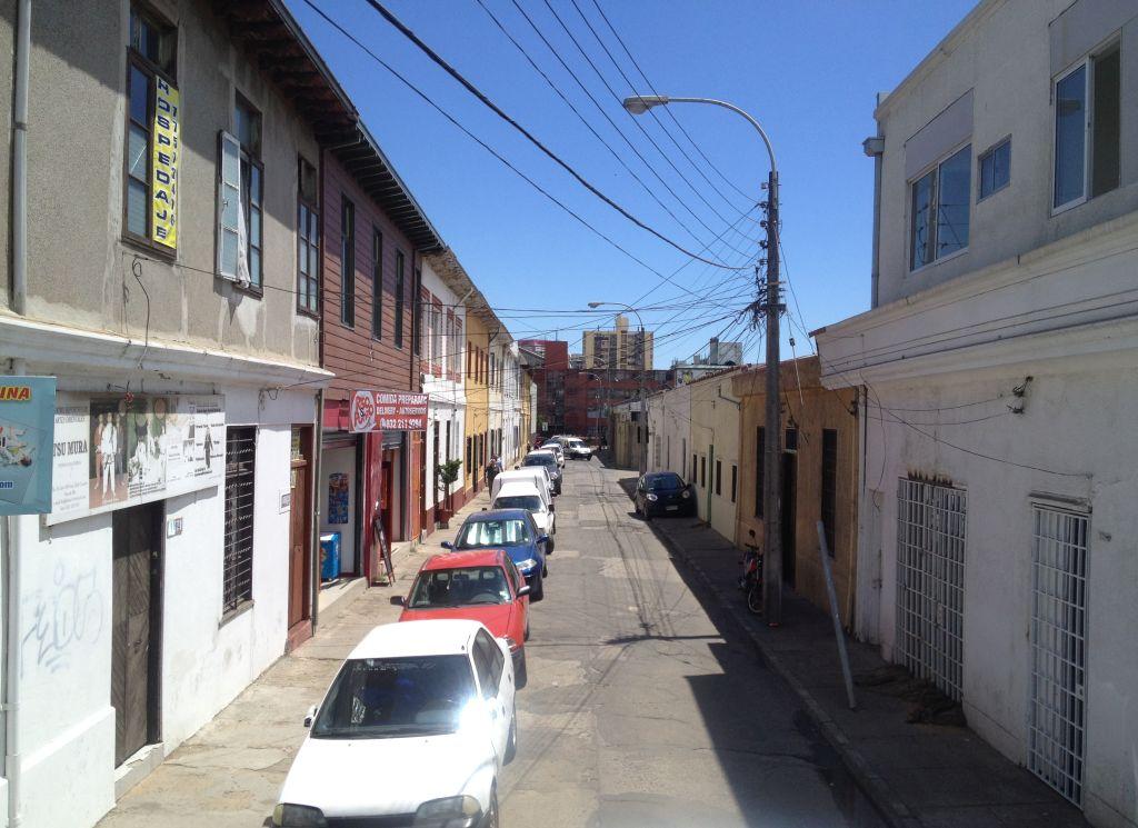 Kleine Straße in Viña del Mar