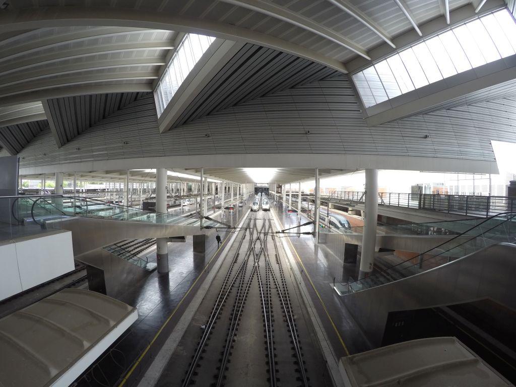 Bahnhof Atocha in Madrid
