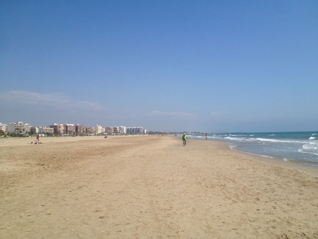 Puerto de Sagunto Strand