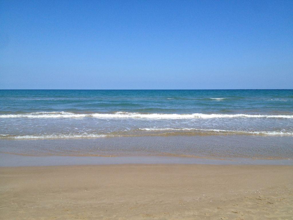Strand in Puerto de Sagunto