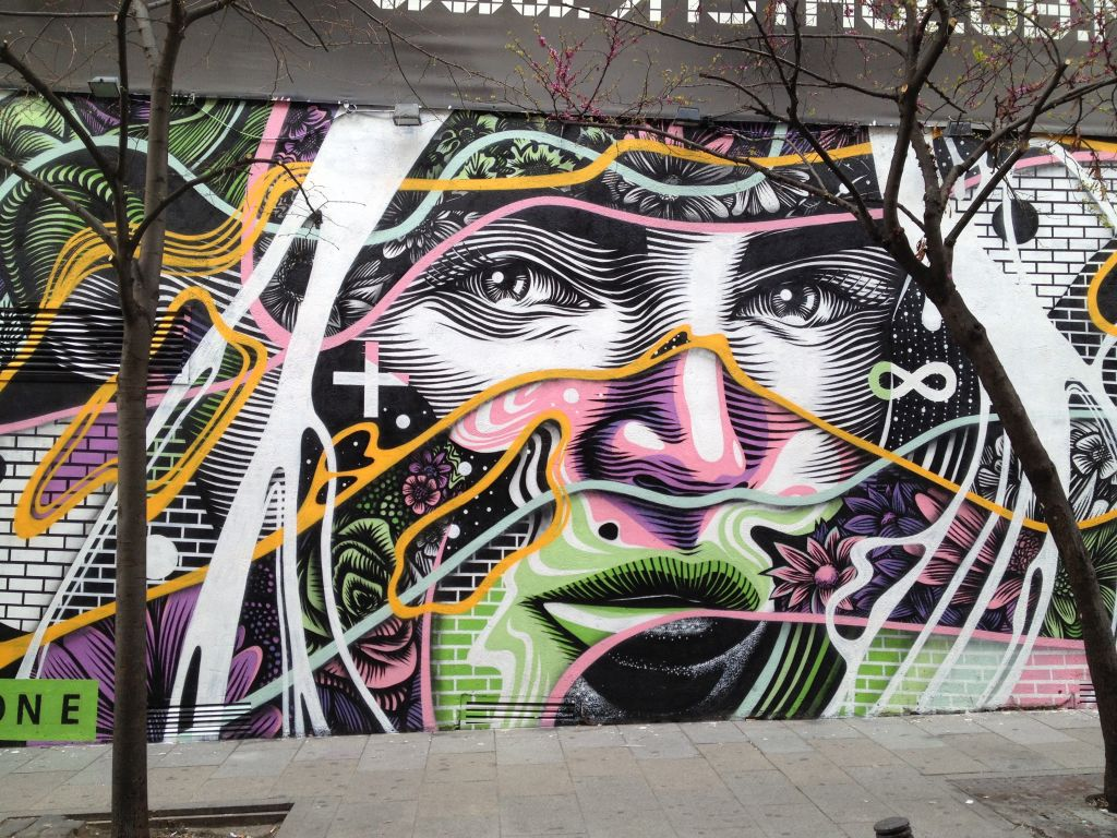 Streetart in Madrid