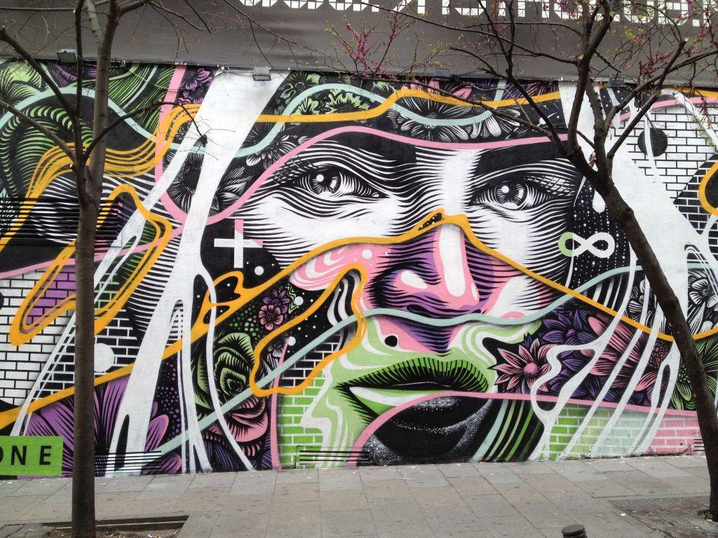 Streetart in Madrid
