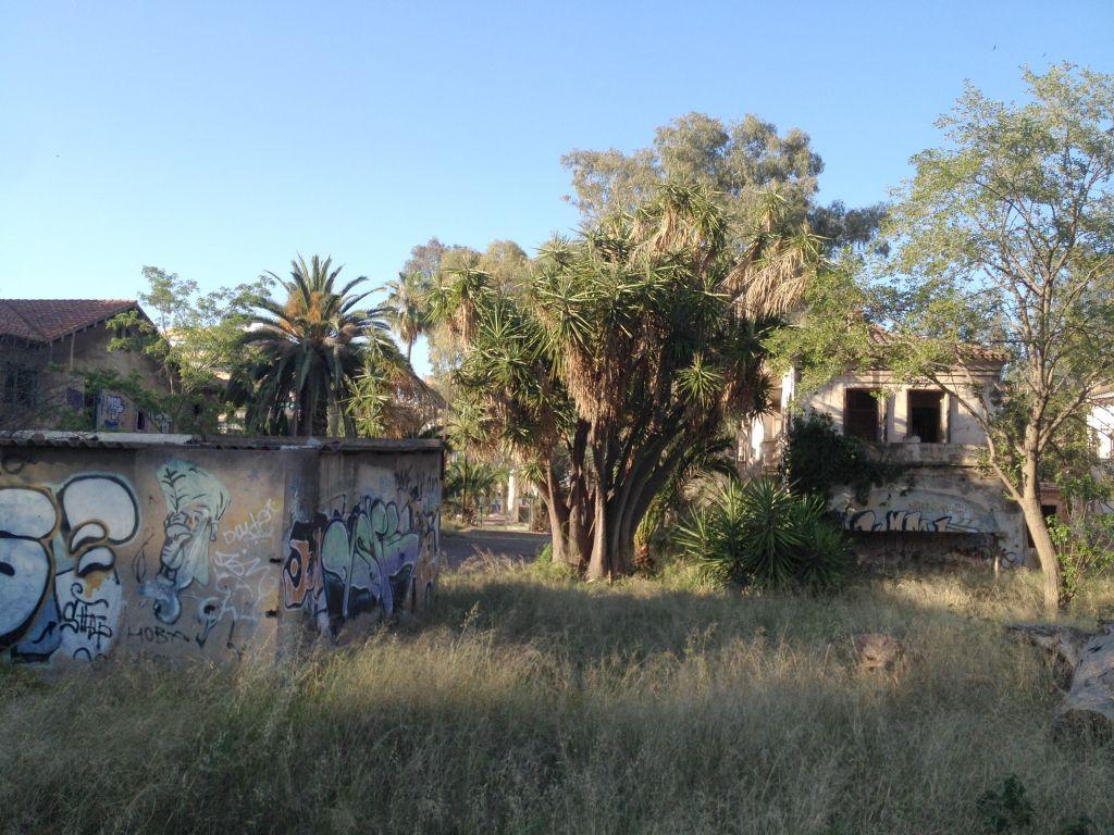 Verlassene Gebäude in Puerto de Sagunto