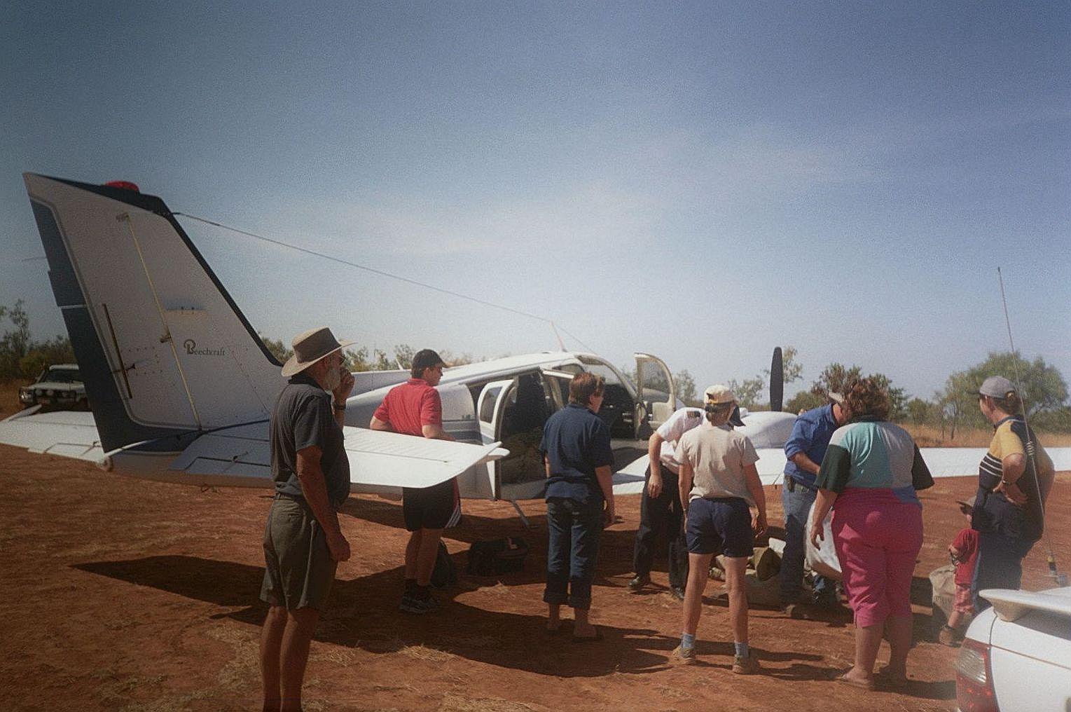 Australien mit dem Postflugzeug