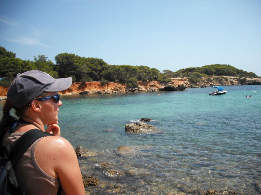 Traumhafte Bucht auf Ibiza