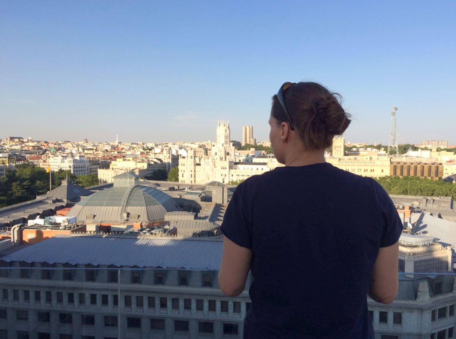 Aussicht von der Rooftop Bar