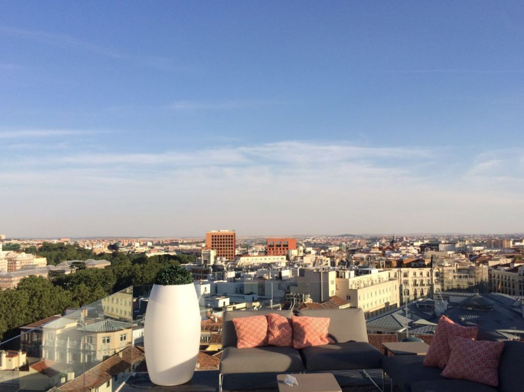 Rooftop Bar in Madrid