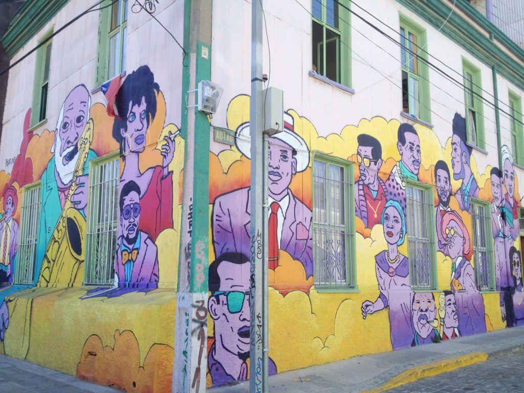 Streetart in Chile, Valparaíso