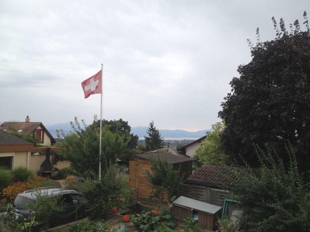 Garten in Lausanne