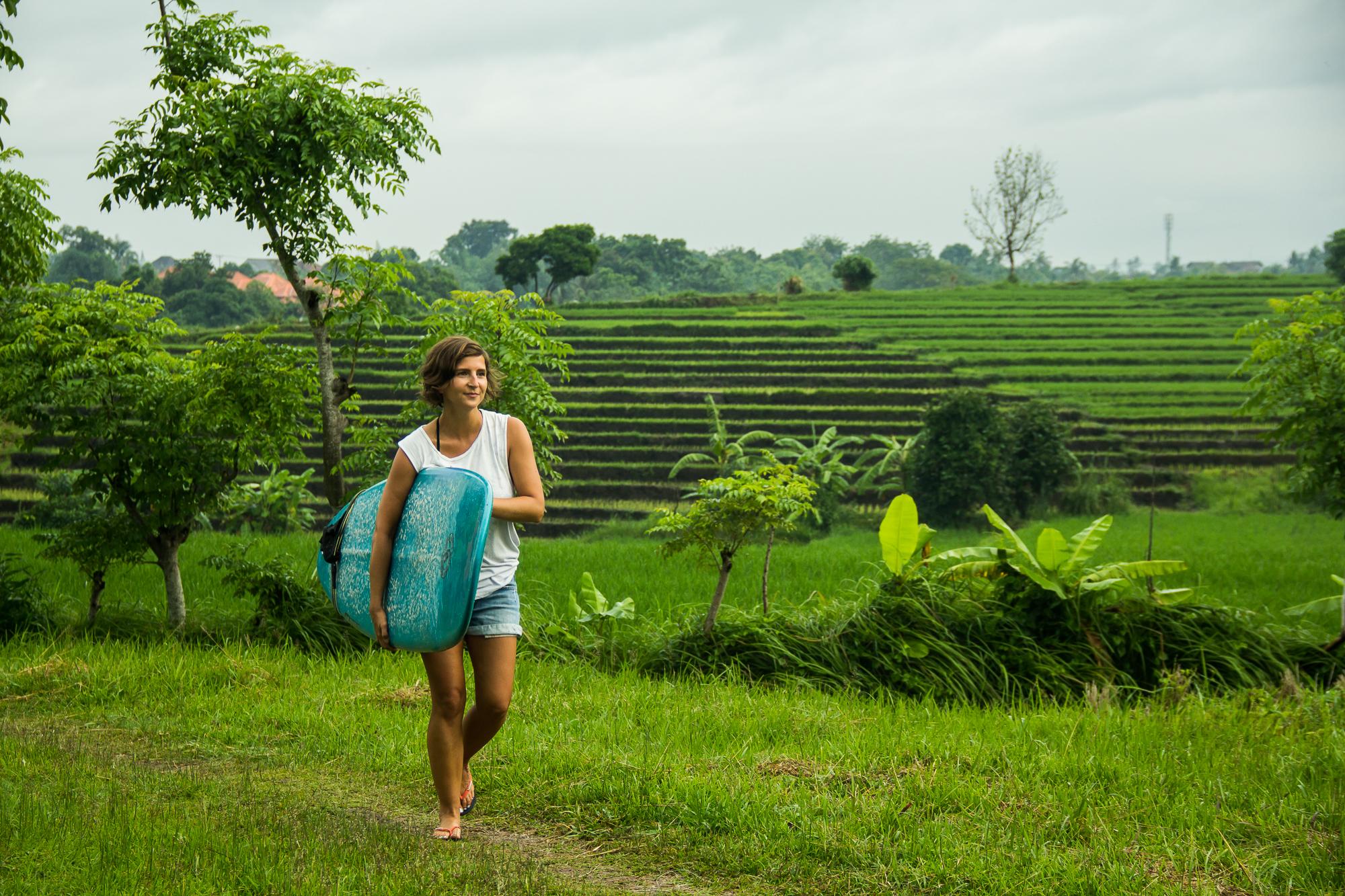 Sabine auf Bali