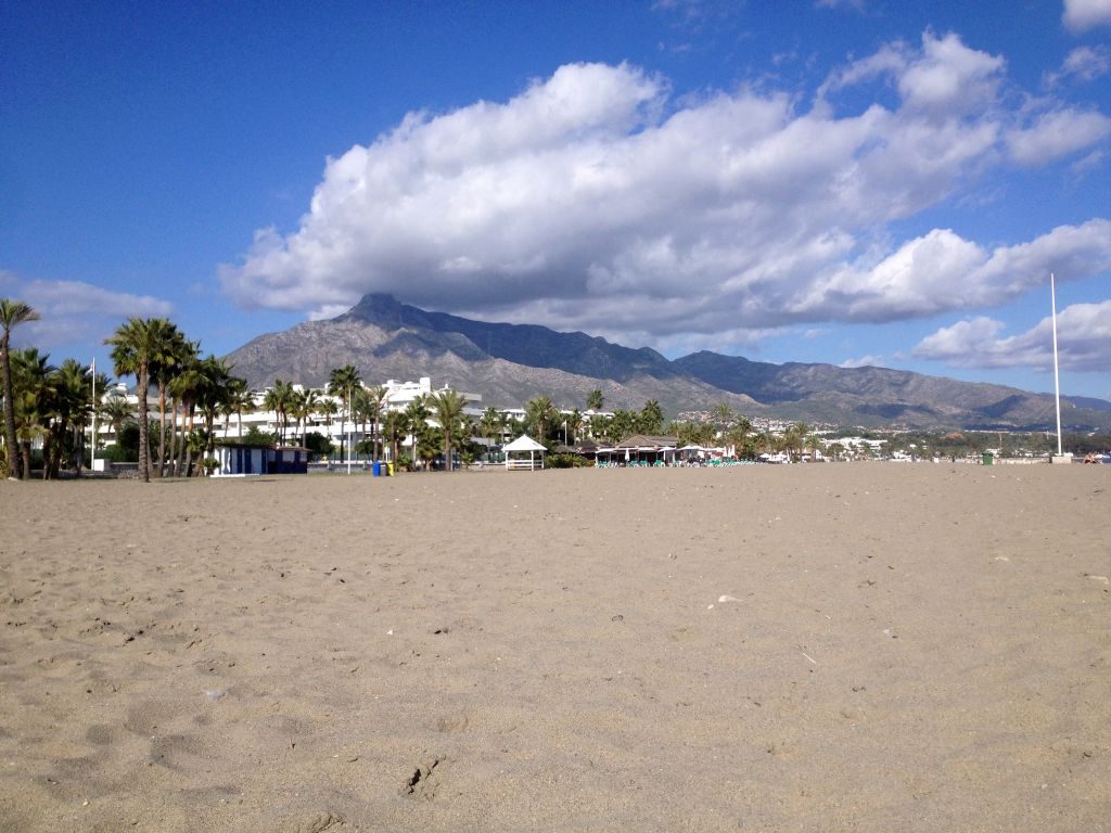 Strand in Puerto Banús