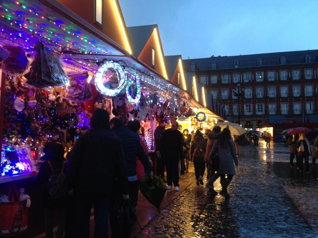 Weinachtsmarkt in Spanien