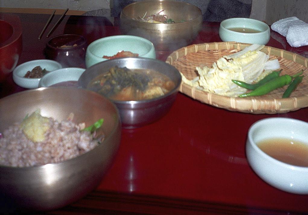 Essen in Korea