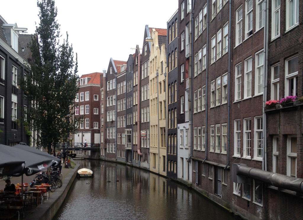 Mit dem Fahrrad und Boot durch Amsterdam