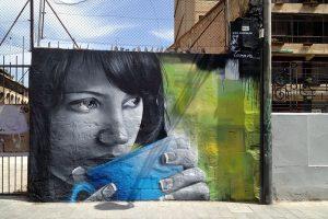 Streetart in Valencia, mein All-Time-Favourite