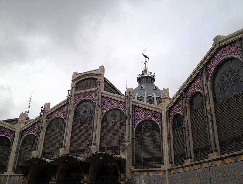 Die Markthalle in Valencia