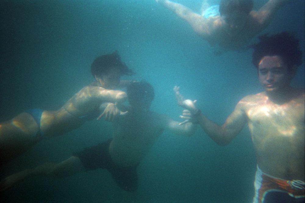 Unter Wasser im See