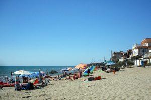 Strand in Rom