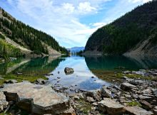 Lake Agnes in Kanada