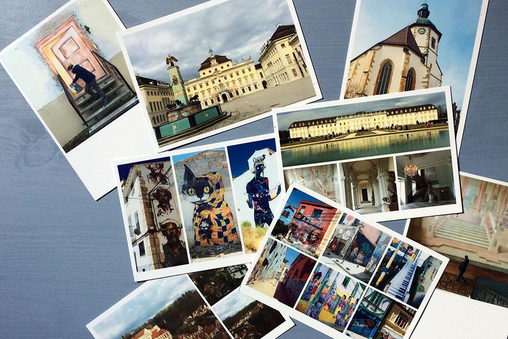 Postkarten von überall auf der Welt schreiben