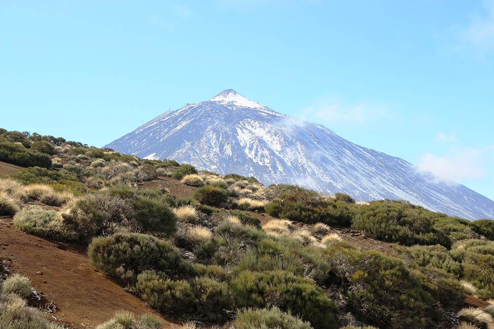 Höchster Berg auf Teneriffa
