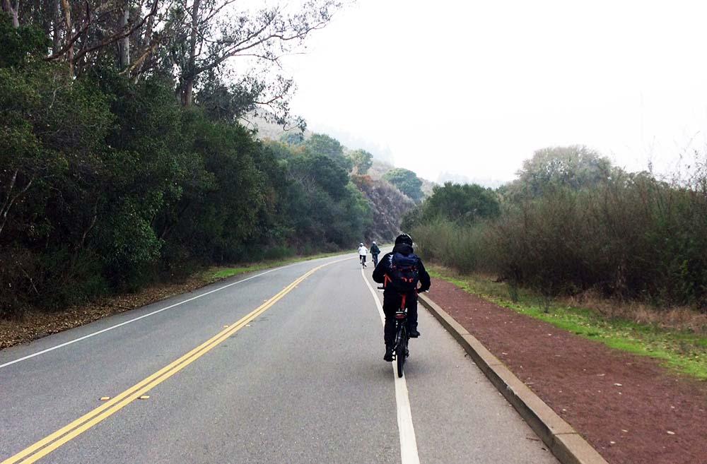 Mit dem Fahrrad in den USA nach Sausalito