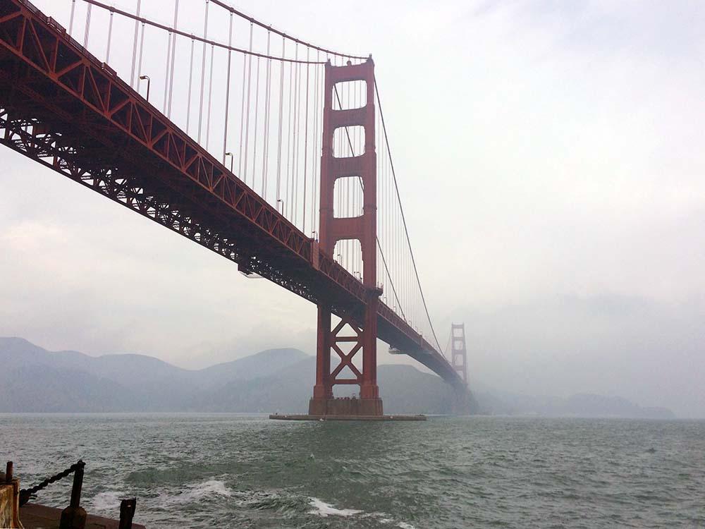 Golden Gate Bridge von Fort Point