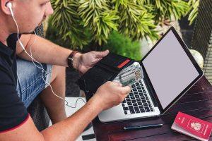 Konto mit Kreditkarte für Work and Travel