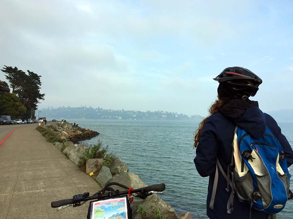 Mit dem Fahrrad nach Sausalito