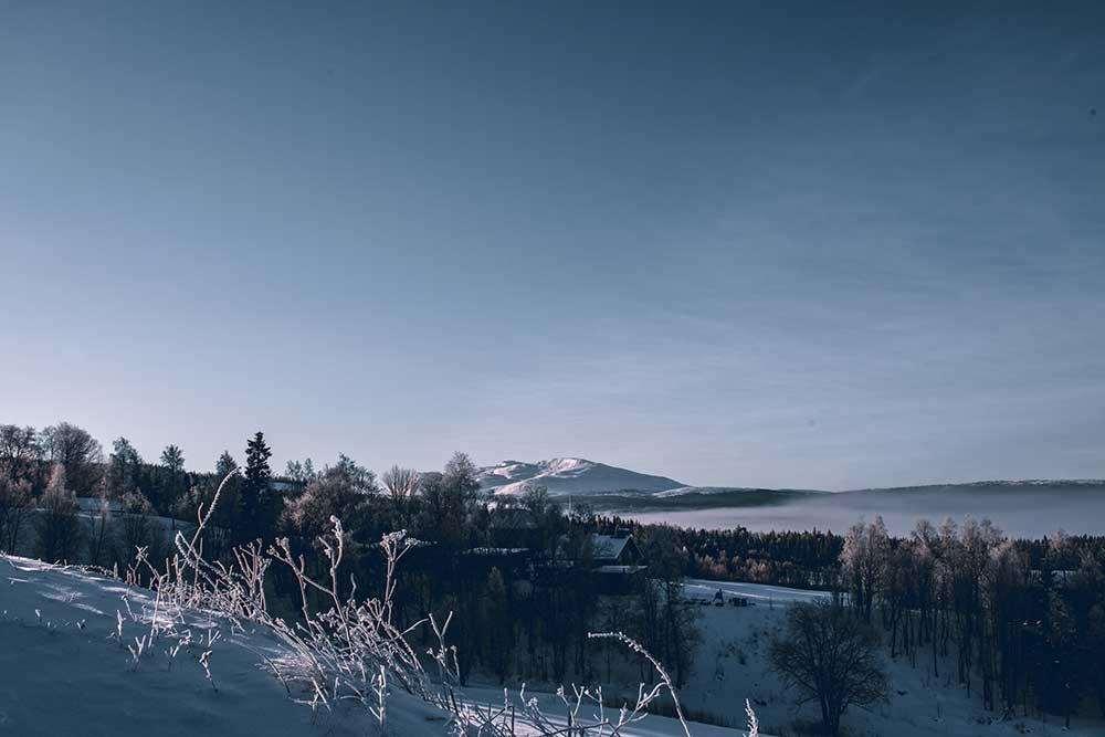 Winter in Schweden